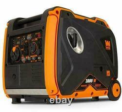 Wen 56380i Super Silencieux 3800-watt Générateur D'onduleur Portable Avec Arrêt De Carburant