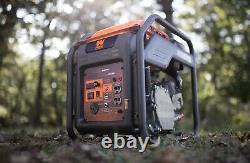Wen Gn400i Rv-ready 4000-watt Générateur D'onduleur À Cadre Ouvert, Conforme Carb