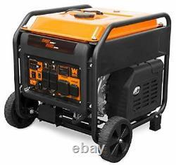 Wen Gn875i Rv/transfer-switch-ready 8750-watt Start Électrique Cadre Ouvert Noir