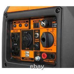 Wen Inverter Generator 2350-watt Recul Start Gas Powered Auto Idle Control