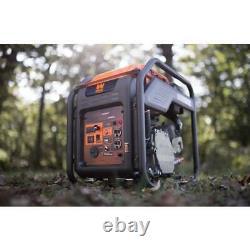 Wen Inverter Generator Rv Ready 4000 Watt Gaz Alimenté À L'air Libre Carb Conforme