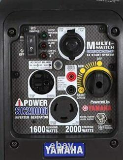 Yamaha Engine 2000 Watt Onduleurs Générateur De Gaz Usine Reconditionnée